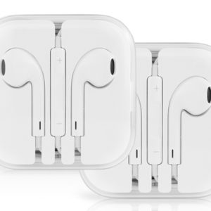OEM Apple Earpods + Inline Controls & Mic