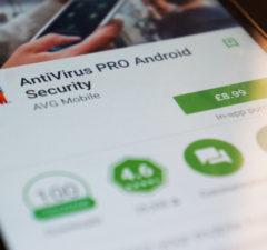 install a mobile antivirus software