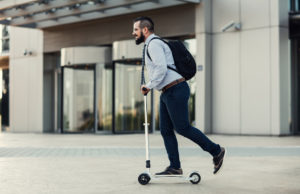 reasons to commute to work by scooter
