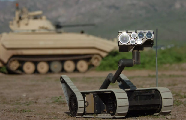 robotic applications in the military