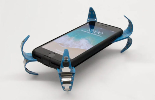 the mobile airbag will save your phone from falls